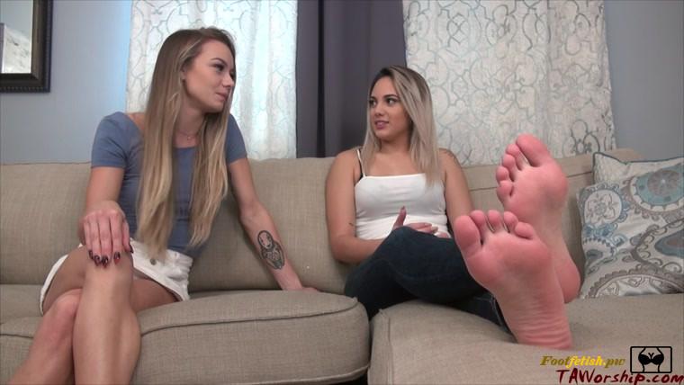 Lesbian Feet Tickling Socks