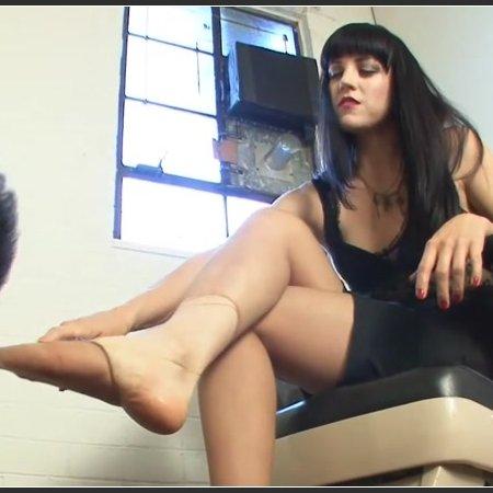 Two Mistress Feet Slave