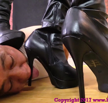 Brat Princess 2 - Princess Alyssa, Princess Chloe - Beg to be Our Boot Licking Slave