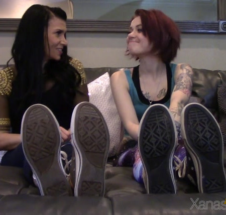 Xanas Foot Fantasies - Goddess Xana, Miss Cora - The Dominant Feet Worship Challenge