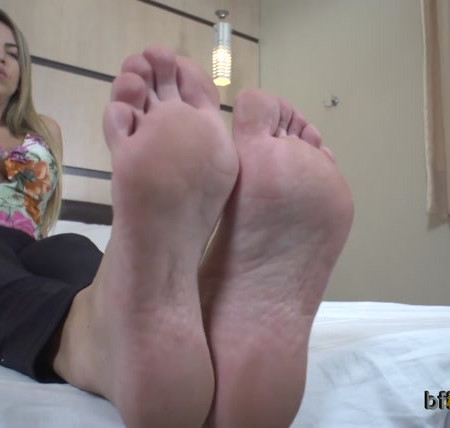 Bffvideos - Under Goddess Manu Fox Sweaty Soles Pt.1