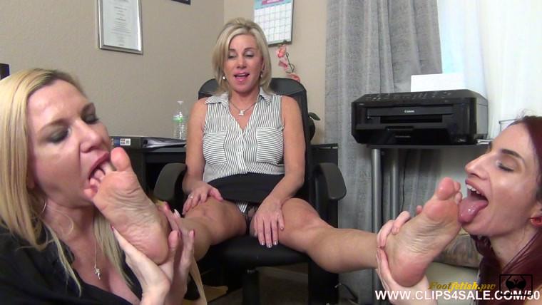 Lesbian Dirty Feet Domination