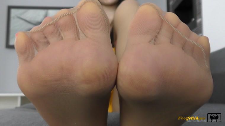 Smell Stinky Nylon Feet