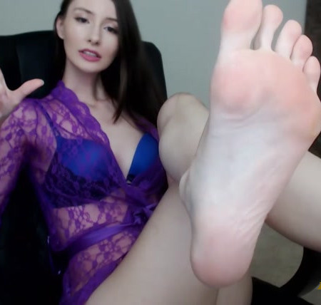 Princess Mika - Worship My Feet, Foot Loser