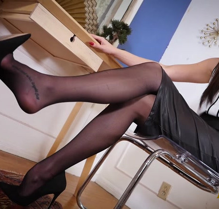 Nichole Daylinn - Dangling in Stockings