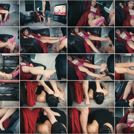 Domina Planet - Bratty Princess Aryal - Suck My Toes, <a href=