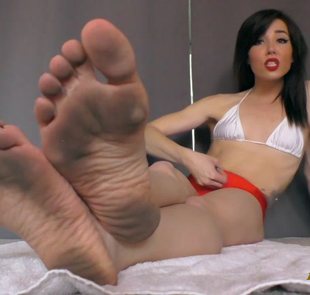 The Wolfe Sole Experience - Foot slaves only edge for Dirty Feet