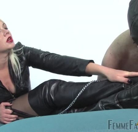 Femme Fatale Films - Mistress Heather - Leather Licker Part 2