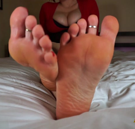 Maia McQueen - Foot pervert called out and teased