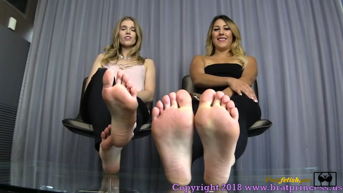 Brat Princess 2 - Princess Amber, Princess Skylar - We Get What We Want with Our Feet and Our Looks