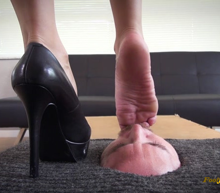 Bratty Foot Girls - Sasha Foxxx - From Heels to Your Mouth
