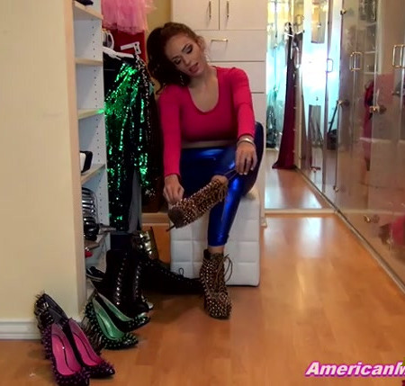 Princess Carmela - Favorite Ballbusting Shoes