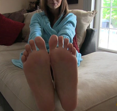 Ashley Sinclair - Feet And Toes Jerk Off Instruction