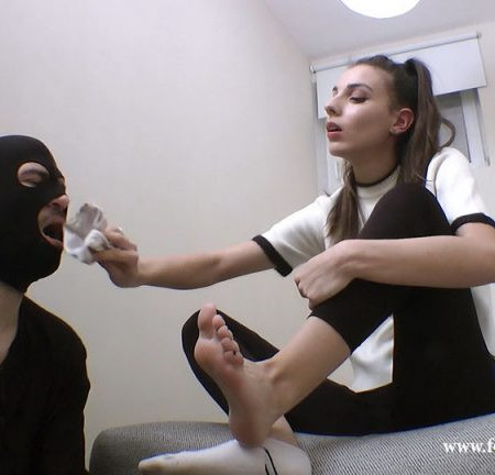 Foot Goddess Mia: It's Time For Cleaning, Slut - Part 3