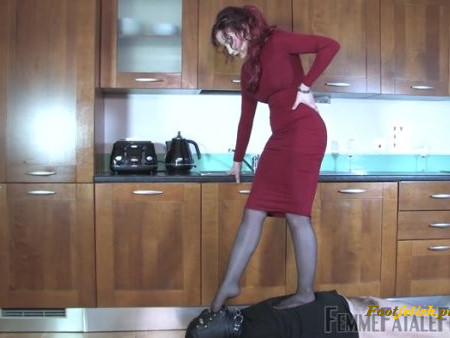 FemmeFataleFilms - Governess Elizabeth - Cheapskate Trample - Complete Film