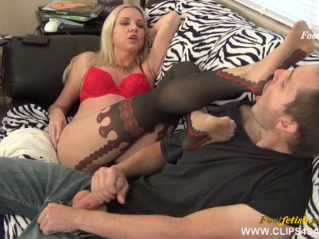Jessica Taylor - Blackmailing Brother in Law Blackmailing Footjob