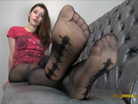 Miss Melissa - Smelly My Black Nylons - Fetish