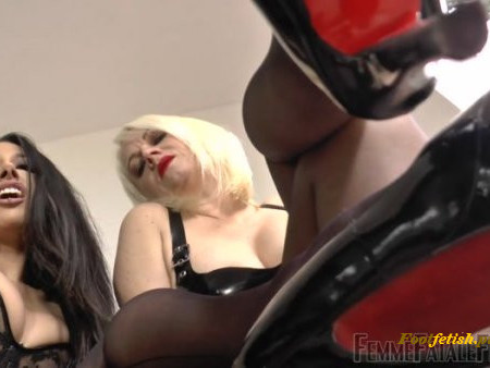 Femme Fatale Films - Mistress Heather, Goddess Tangent - Slave To Feet - Complete Film