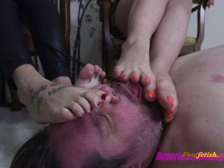 THE MEAN GIRLS CLUB - Miss Dandy, Princess Mia - Worship Our Feet Butterball