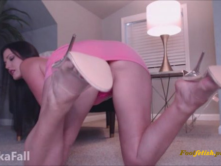 AnikaFall - Clear Heels And Feet