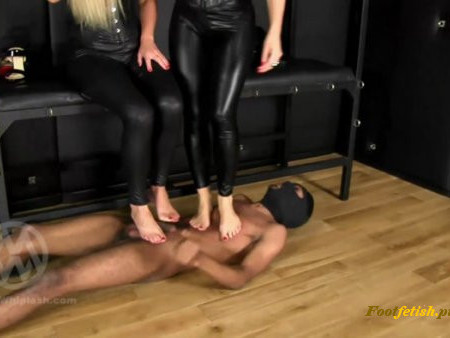 Mistress Whiplash - WL1455 - Human Carpet Double High Heel and Barefoot Trample (1080 HD)