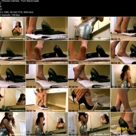 Princess Carmela - Foot Slave Bullies By Hot Couple