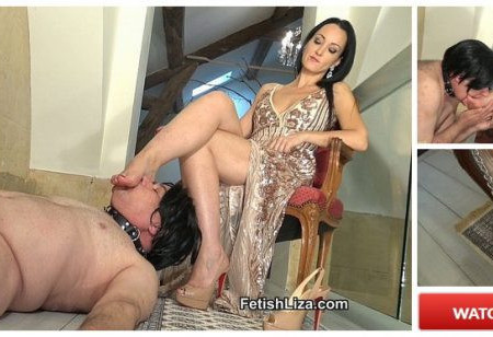 Fetish Liza - My shoe and foot slut