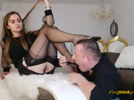 Goddess Lena - Nylon-Worship (1080 HD) - Shoe Worship