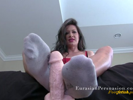 EurasianPersuasion - Miss Jasmine - Ultimate Sock Worship