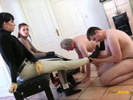 Sado-Ladies -  Lady Sofia, Mistress Nemesis - Footmassage For The Ladies