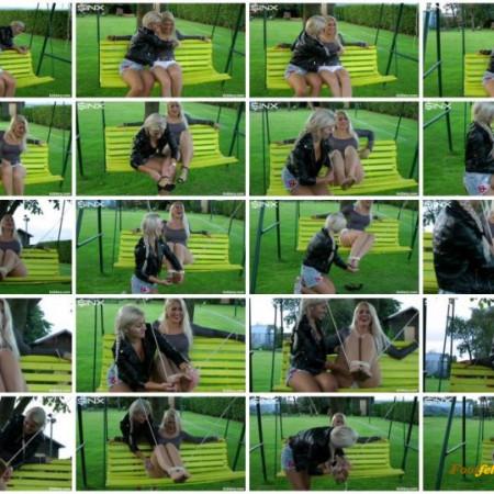 Gorgeous Blonde Tickle Freaks - Cam 2