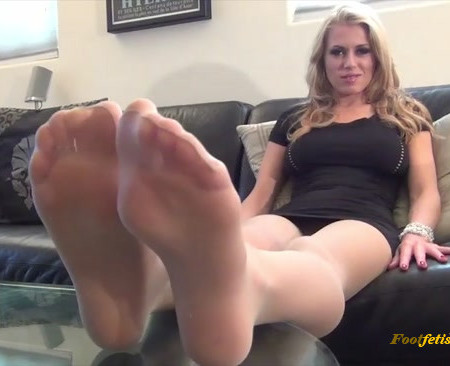 Randy Moore - Addicted To My Pantyhose Foot Sweat
