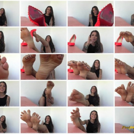 My Doll Parts – Foot Fetish JOI with CEI