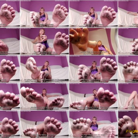 Nadya Zabava - Findom domination for filthy foot worshiper