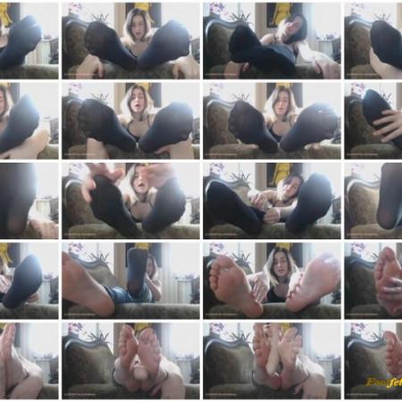 Misstress Liliya – JOI for Foot Obsessed Chronic Masturbato