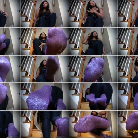 GoddessTrinidy - Purple Foot Passion
