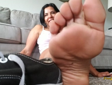 Goddess Zephy - you would have to be a true extremely devoted foot slave
