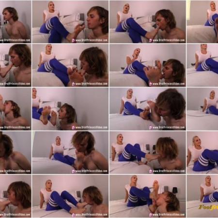 Brat Princess 2 - Macy Cartel - Trains A Slave To Worship Feet For Her Pleasure