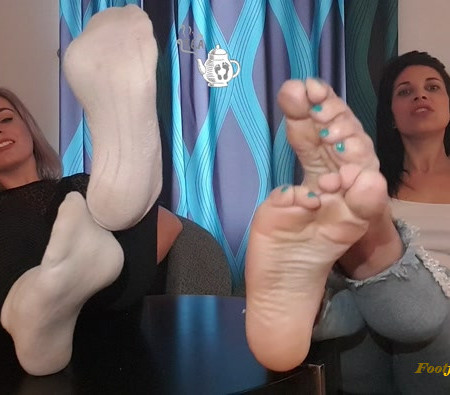 T.E.A Society - A Smelly, Sweaty Feet JOI