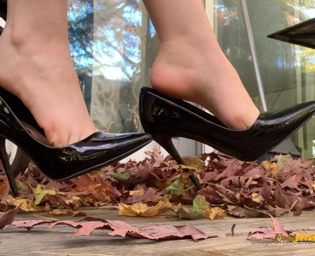 celestial tootsies - Classy black heels