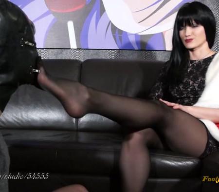 Goddess Noir Plaisir - Stinky after luxurious GML stilettos
