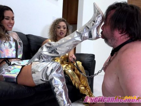 The Mean Girls - Goddess Draya, Princess Lexi - Bootlicker 2040 (1080 HD)