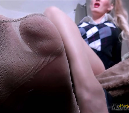 Goddess Misha Mystique - Detention: Teacher Pantyhose Femdom Joi Cei