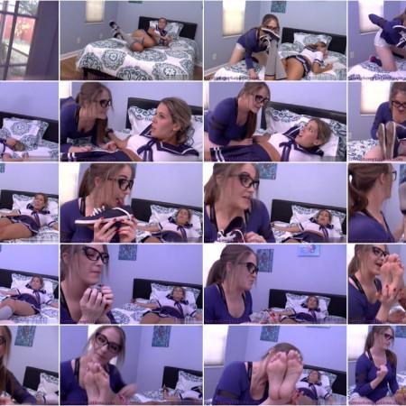 Terra Mizu, Nikki Brooks - The Freaky Foot Tutor!
