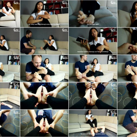 Czech Soles - Foot worship during Vietnamese language lesson