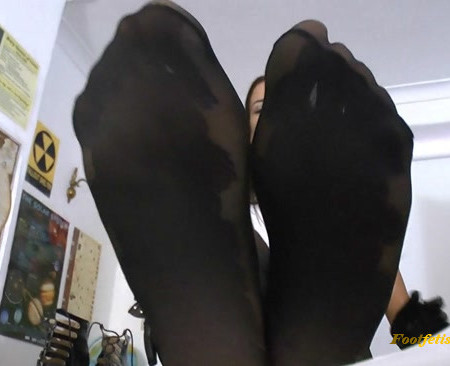 St Mackenzie's - Sexy School Girl Becky Makes You Worship Her Naughty Nylon Feet