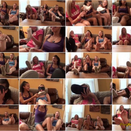 Sweet Southern Feet - 3 Girls With Stinky Socks and House Slippers