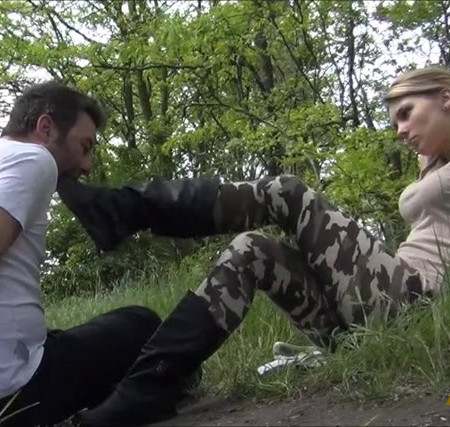 GABRIELLA - Saving Private Vigor - HARD Foot Gagging