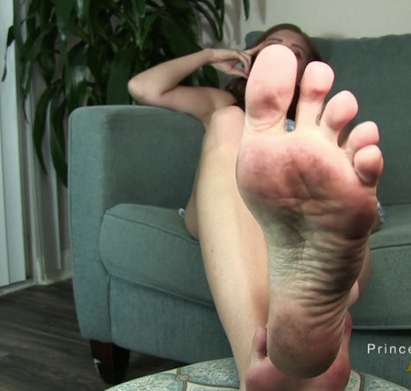 Princess Kaelin - Cum on my dirty feet