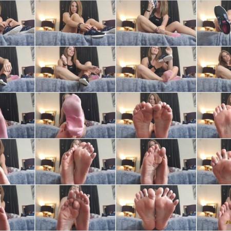 Queengf90 - Gym Feet Fantasy Joi